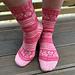 Hjerter på føttene pattern