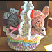 Rainbows and Ruffles Easter Basket pattern