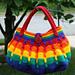 Gradient Blocks Handbag pattern