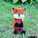 Fox Pencil Holder pattern