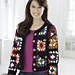 Granny Square Jacket #WR1859 pattern