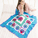 Lucky Ladybug Throw pattern