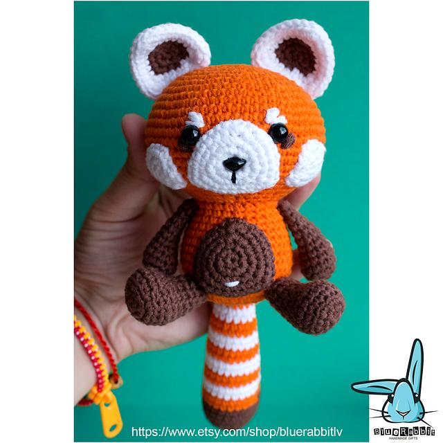 Crochet Panda Amigurumi / Plush Toys For Kidults By Missus D on Luulla | 640x640