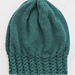 Cable Brim Slouch Hat pattern