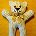 Easy-peasy teddy-bear — crocheted in one piece pattern