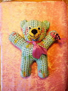 Bernat Velvet Valentine Crochet Bear | Yarnspirations | 320x240