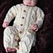 Baby Aran Body Suit, Hat & Booties pattern