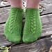 Almost Aran Socks pattern