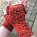 Almost Aran Fingerless Gloves pattern