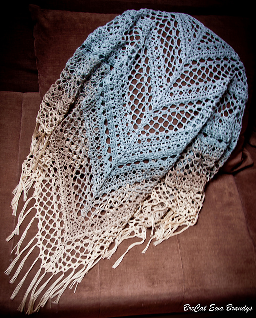 Shawl Patterns I Love August 2020