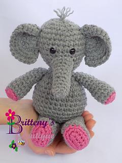 Amigurumi Elephant Bookmark Crochet Pattern   Supergurumi   320x240