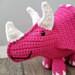 Tina the Triceratops pattern