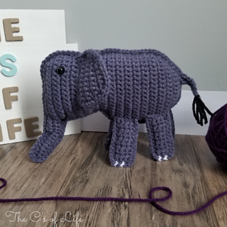 Ravelry: Ollie the elephant pattern by Sonja van der Wijk | 320x320