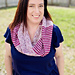 Shells and Stripes Infinity Scarf pattern