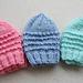 Just My Size Baby Jiffy Preemie Hats pattern