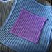 Just My Size KBB Baby Blanket pattern