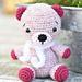 Alpaca teddy bear pattern