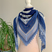 In and Out shawl pattern