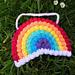 Rainbow Wall Hanging pattern
