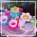 Flower Garden Tea Set pattern