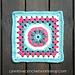 Octagon Flower Granny Square pattern