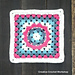 Frilly Circle Granny Square pattern