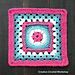 Framed Flower Circle Granny Square pattern