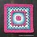 Framed Flower Circle GrannySquare pattern
