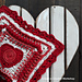 Psychedelic Love Heart pattern
