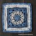 Bahari Afghan Square pattern