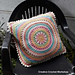 Scrapsadelic Groovy Cushion pattern