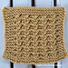 Half Daisy Stitch Square pattern