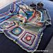 Scrapsadelic Groovy Blanket pattern