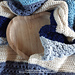 Beach Blues Baby Blanket pattern