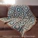 Crochet A Block 2021 Throw pattern