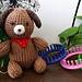 Loom Knit Puppy pattern