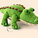 Nile Crocodile pattern