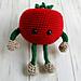 Tomato Veggie Buddy pattern