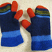 Felted One Finger Mitts pattern