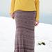 Textured maxi skirt pattern