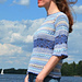 Colourful sweater Ozone pattern