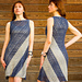 Corner to Corner Trapezoid Dress pattern
