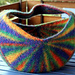 knitted and felted basket pattern