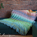 Chevrainbow Blanket pattern