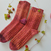 Wild Strawberry Socks pattern