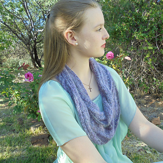 Knit and Chat Infinity Scarf and Cowl Pattern