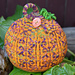 Large Colorwork Pumpkin pattern
