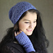 Broderie Hollandaise mitts pattern