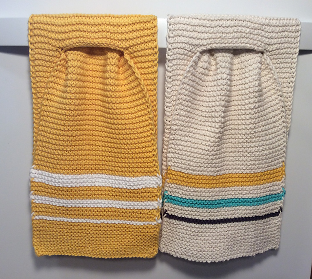 Ravelry Stay Put Kitchen Towel Pattern By Carol Trouba