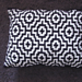 Mosaic tile pillow pattern